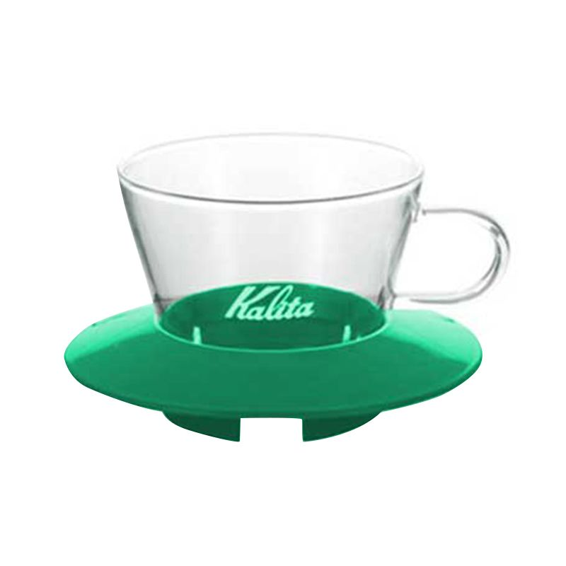 Kalita Glass 155 Hijau Coffee Dripper
