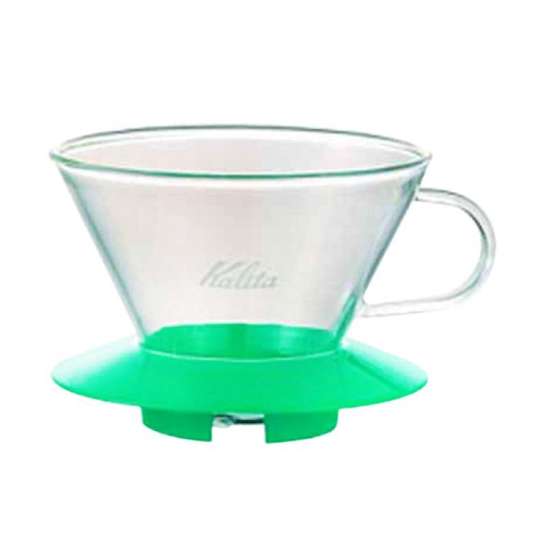 Kalita Glass 185 Hijau Coffee Dripper