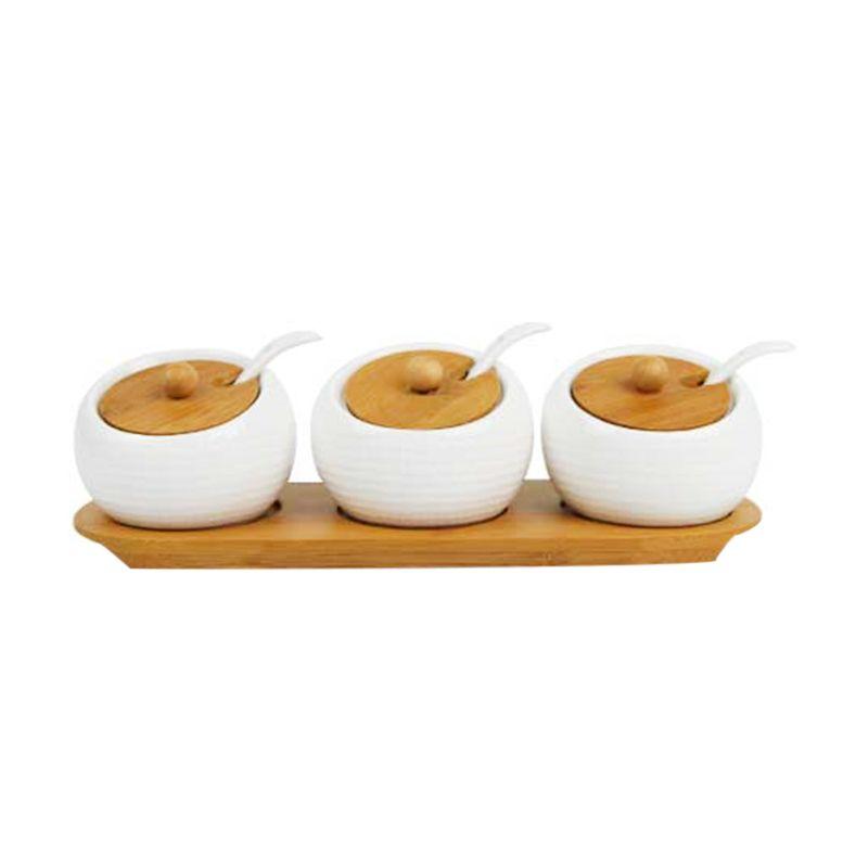 Otten Coffee Triple White Sugar Bowl Tempat Bumbu