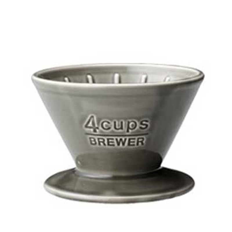 Kinto Brewer 27632 Gray Perlengkapan Minum Kopi & Teh [4 Cups]