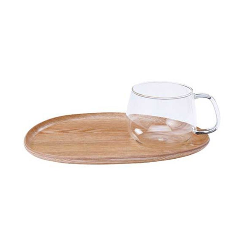 Kinto Fika Cafe Lunch Wood 22588 Mug [200 gr/350 mL]
