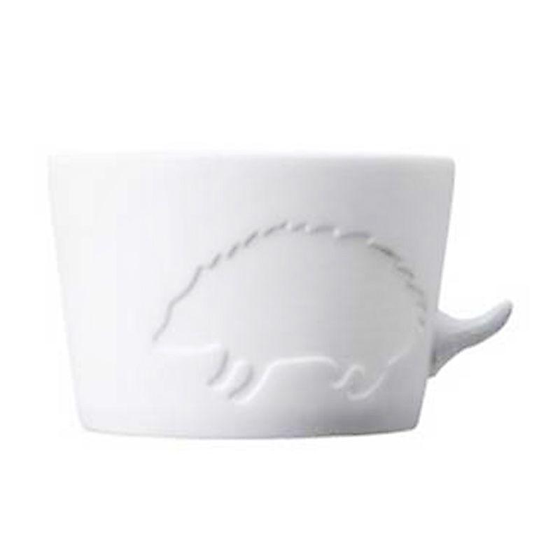 Kinto Hedgehog 22771 White Cangkir