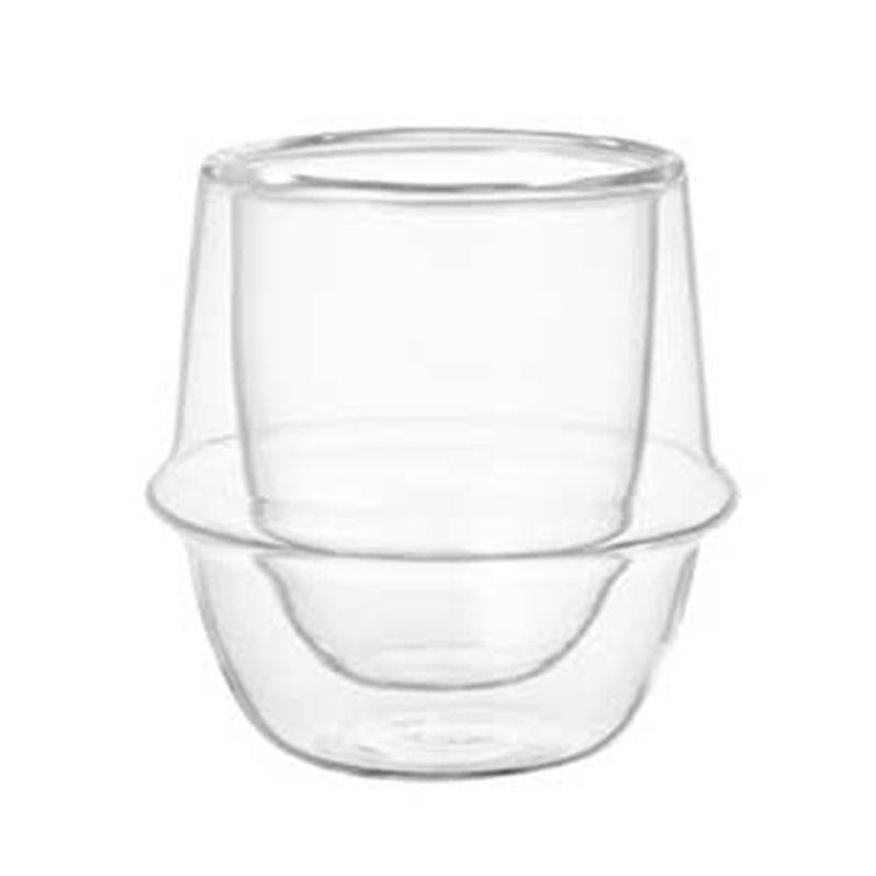 Kinto Kronos Double Wall Cup 23104 Gelas [80 mL]