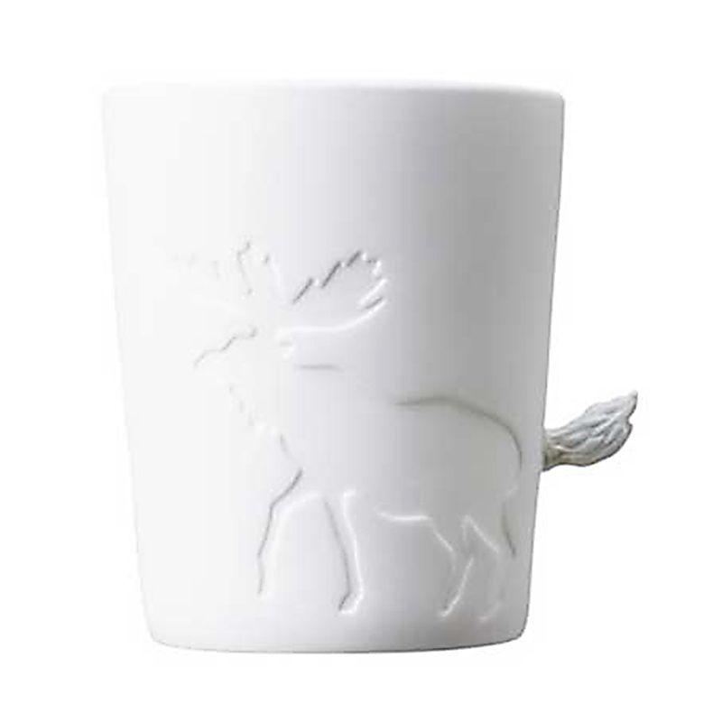 Kinto Moose 22774 White Cangkir