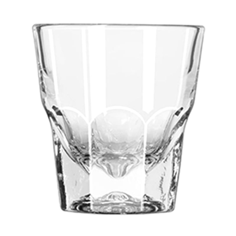 Libbey Gibraltar Duratuff Rocks Glass [4.5 oz]