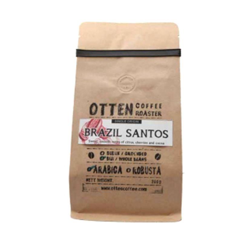 Otten Coffee Arabica Brazil Santos Beans Kopi [200 g]