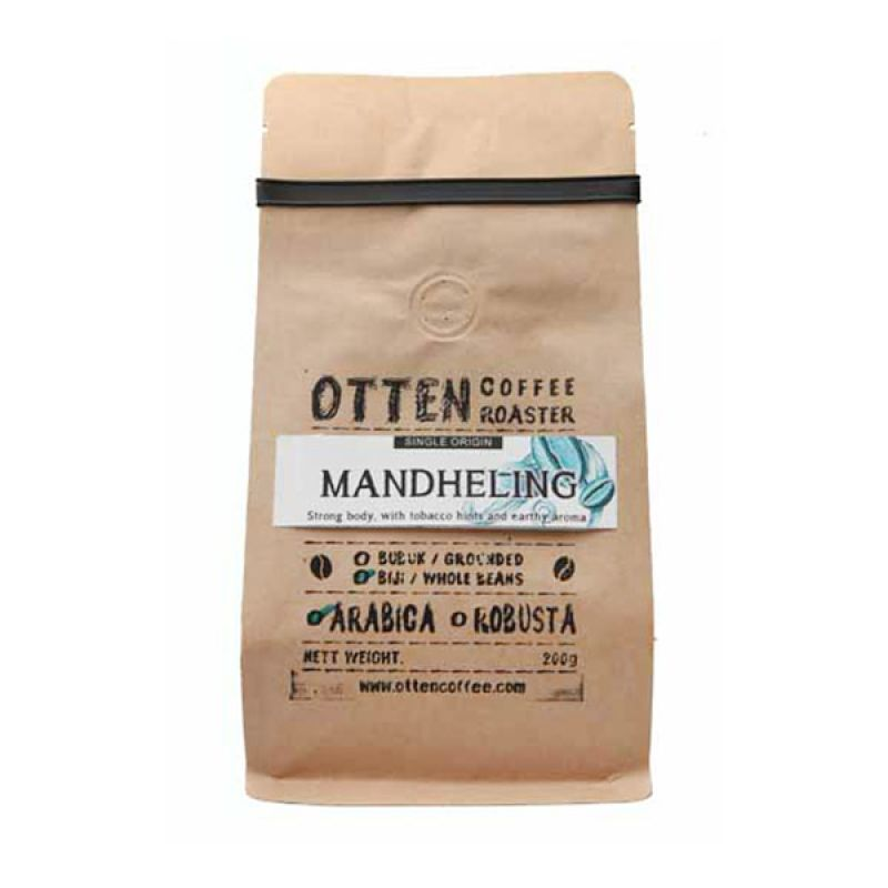 Otten Coffee Arabica Mandheling Bubuk 200 gr