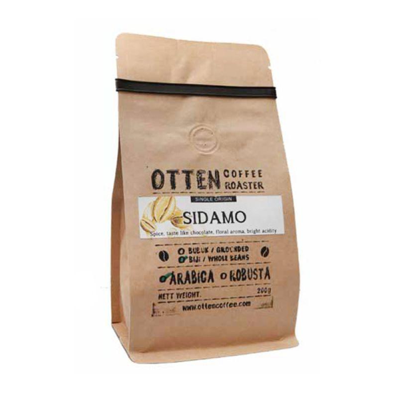 Otten Coffee Arabica Sidamo Bubuk 200 gr