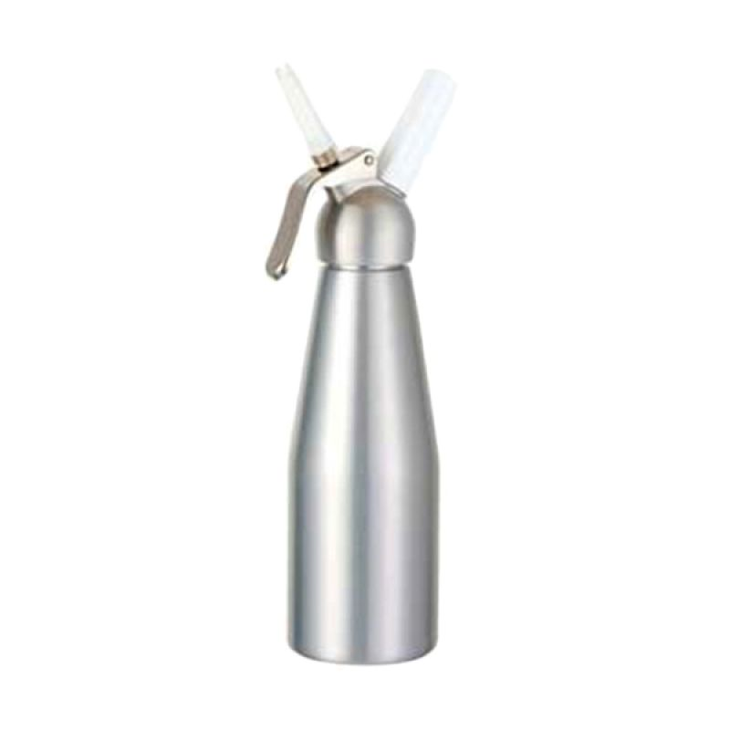 BestWhip Aluminium Despenser Silver Alat Cream Whipper [500 mL]