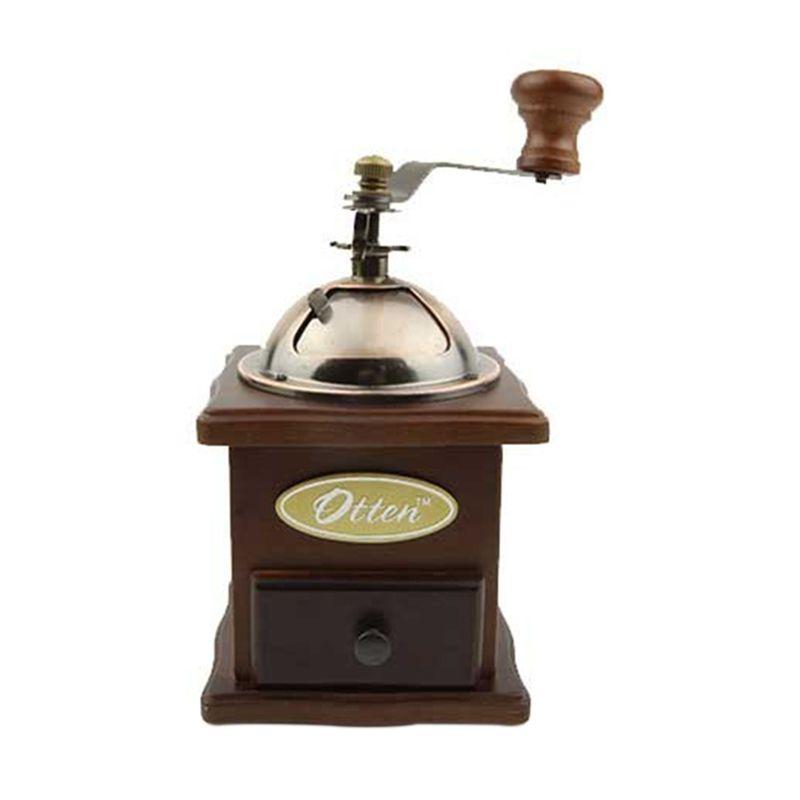 Otten Coffee Handy Grinder A02G Brown Alat Penggiling Kopi