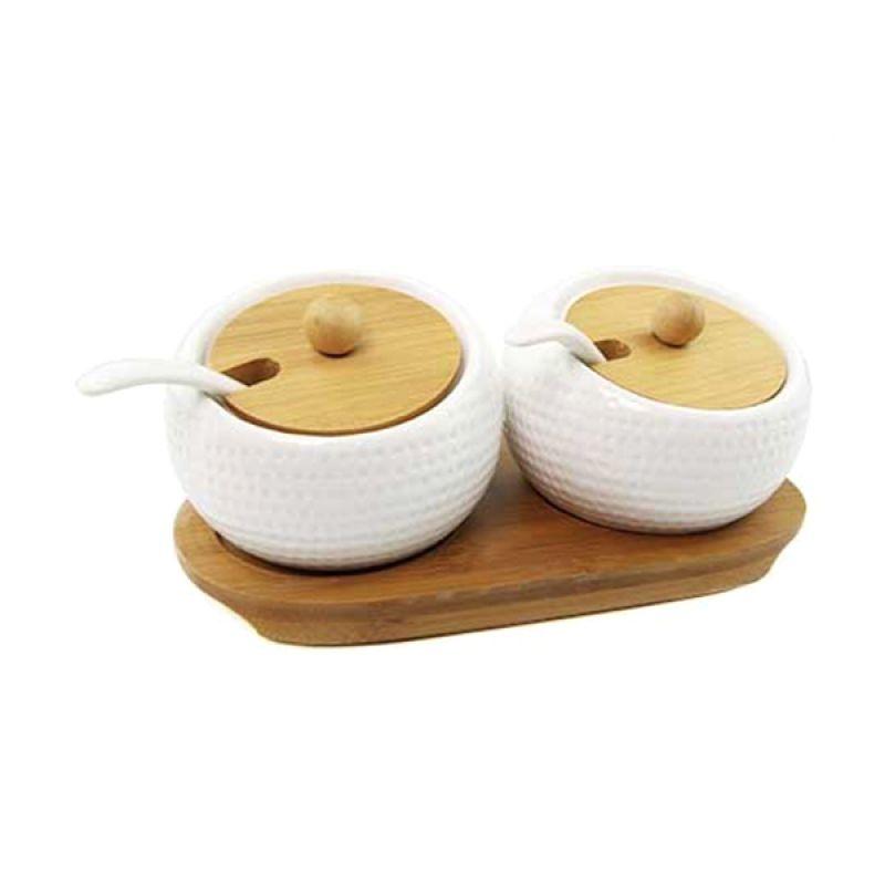 Otten Coffee Twins Sugar Bowl