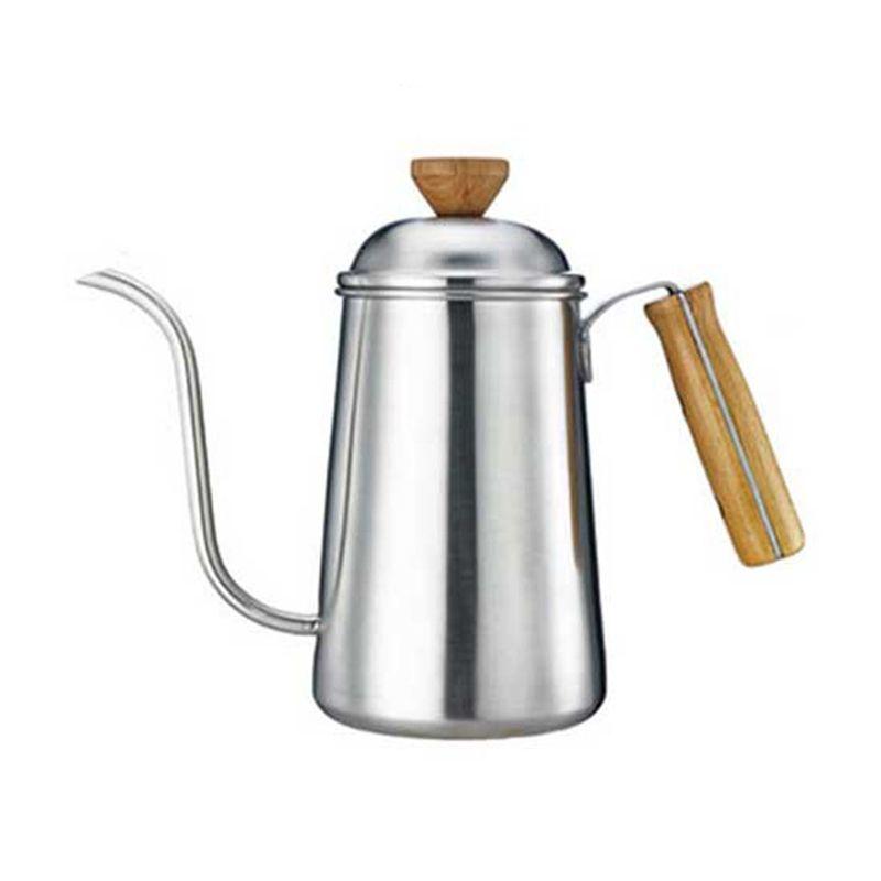 Tiamo HA1654 Drip Coffee Pot Wood Handle [1.2 L]