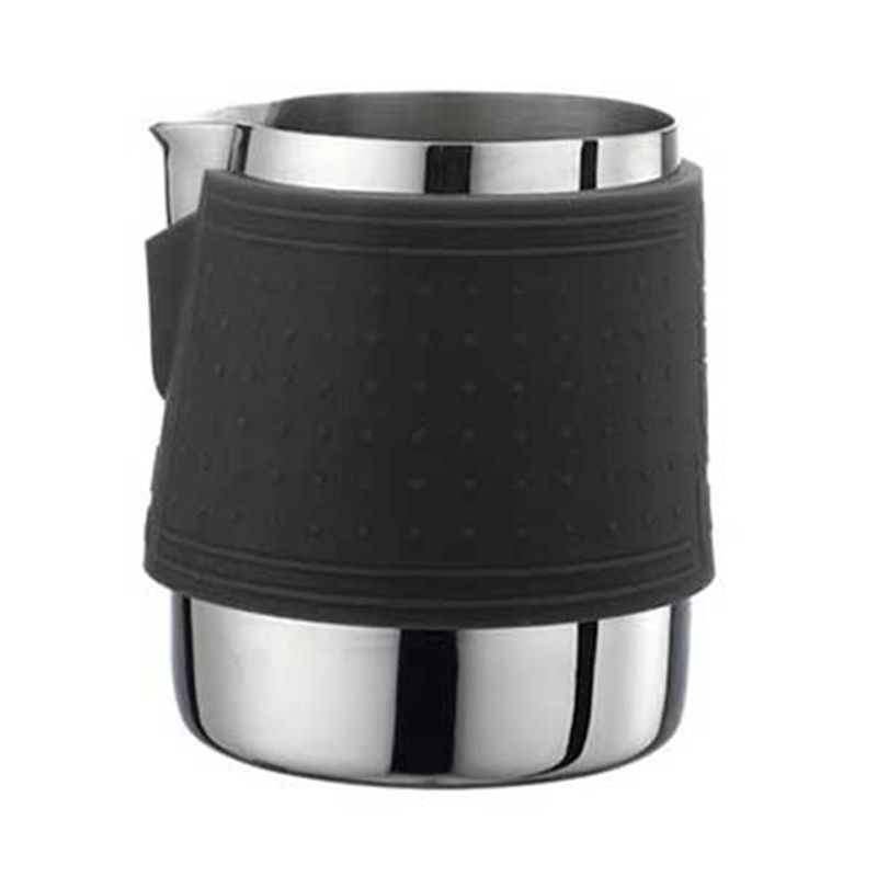 Tiamo Handless HC7063 Black Milk Pitcher [300 mL]