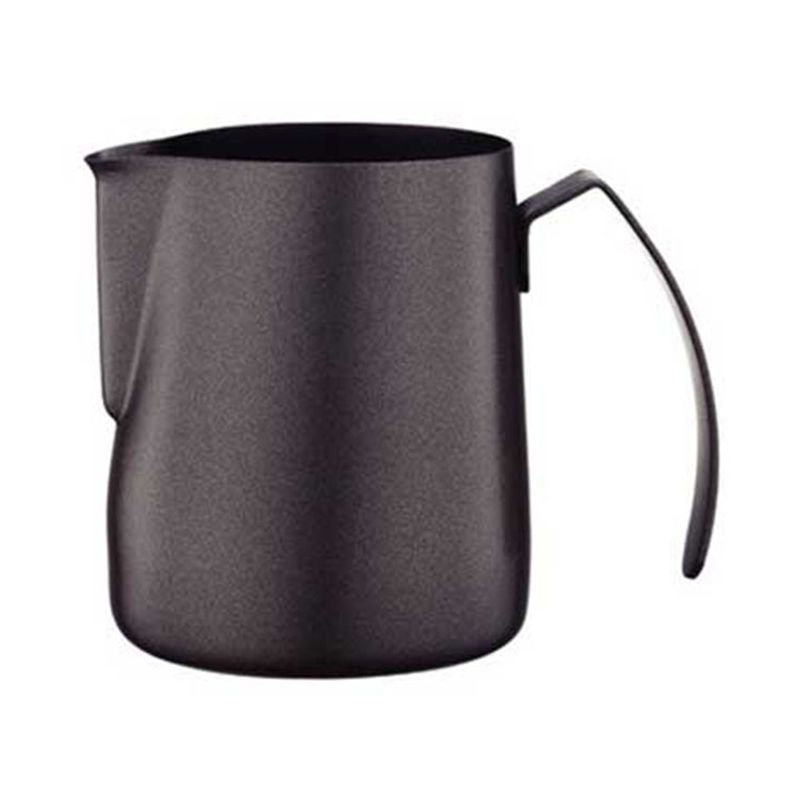 Tiamo HC7072 Black Milk Pitcher [600 mL]