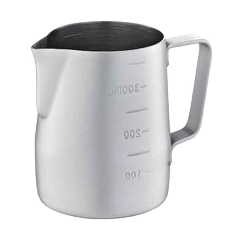 Tiamo HC7086GR Grey Milk Pitcher with Scale [360 mL]
