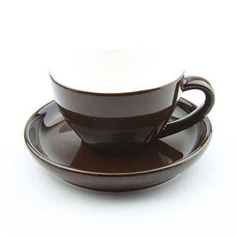 Yami Brown Cangkir Porcelain [200 mL]