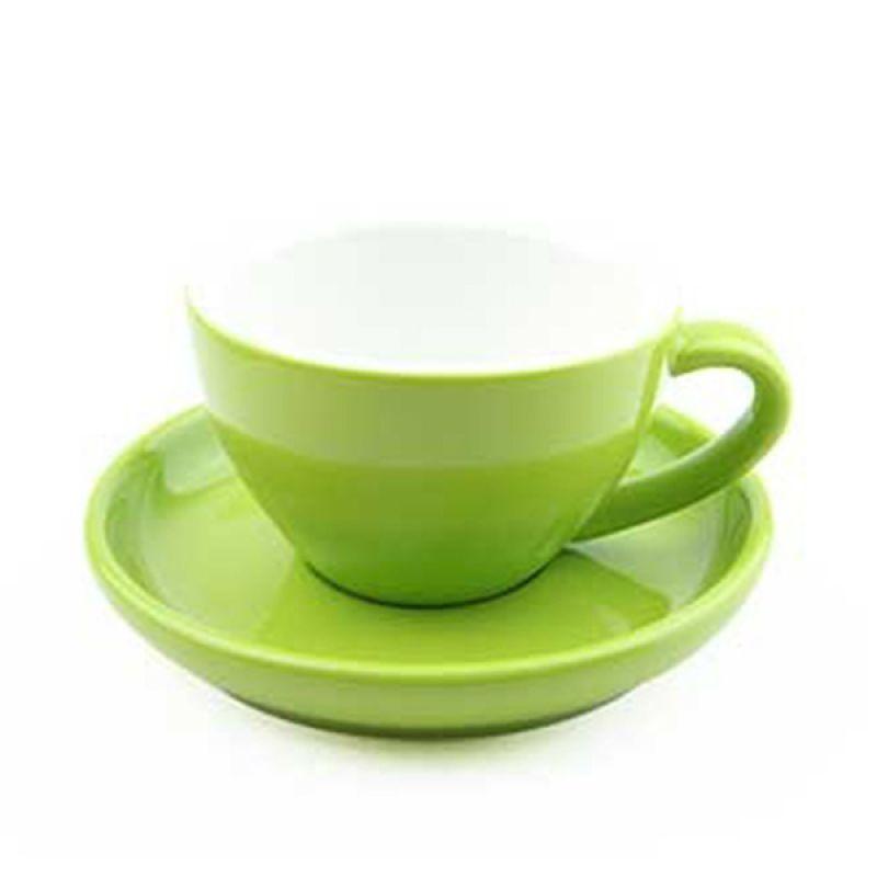 Yami Green Cangkir Porcelain [200 mL]
