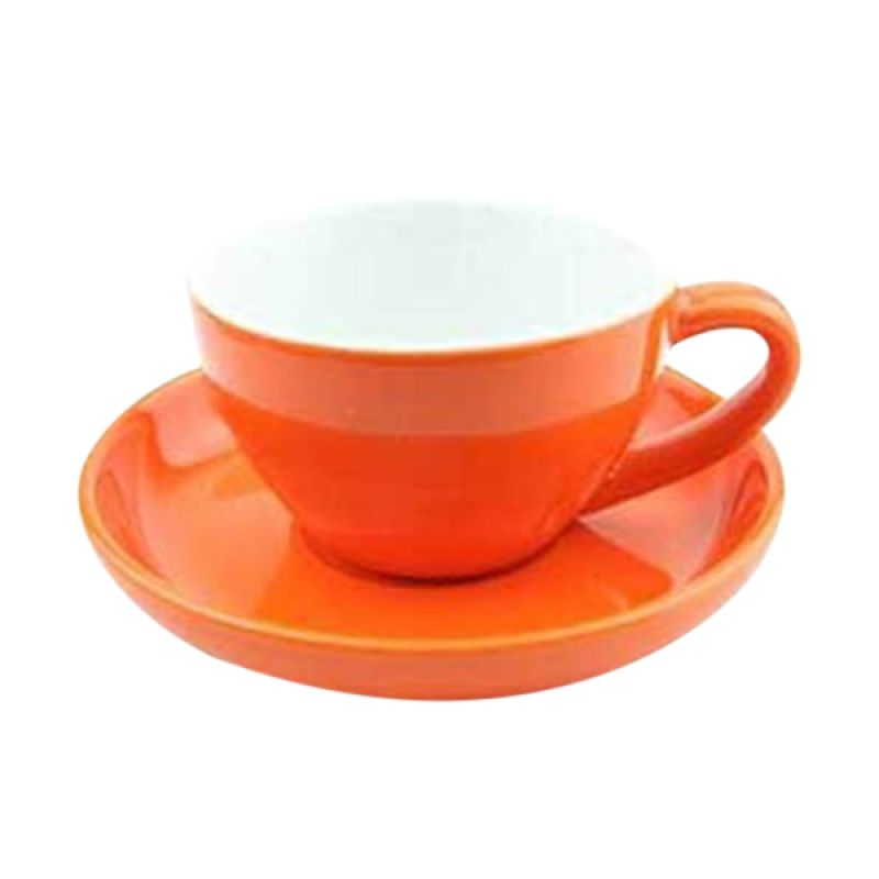 Yami YM2068 Porcelain Orange Cup Cangkir [250 mL]