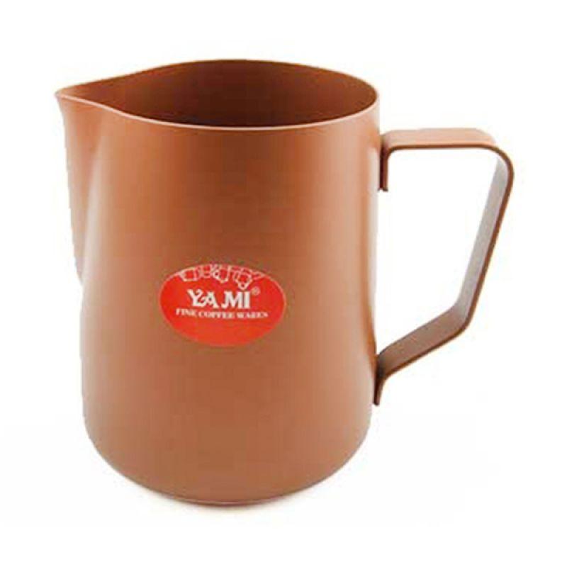 Yami Teflon Brown Milk Jug [600 mL]