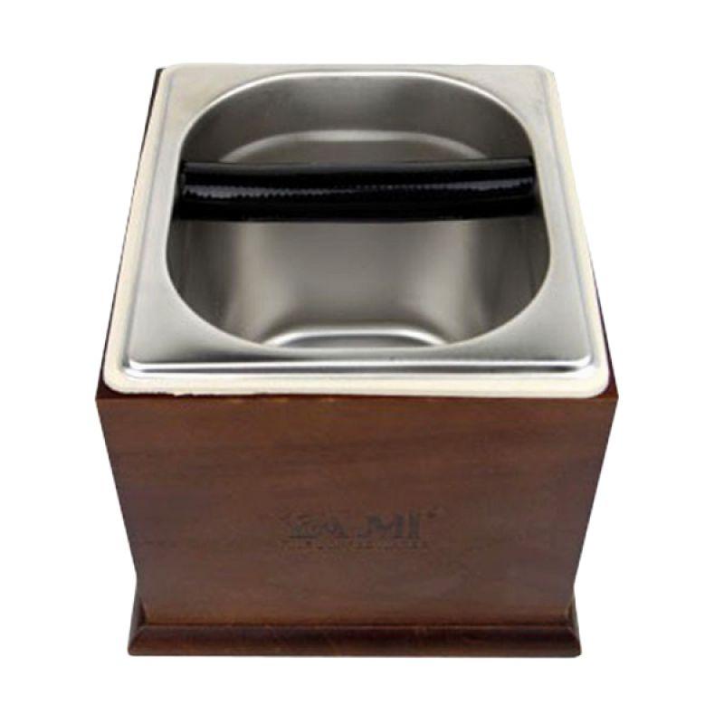 Yami YM3050 Wood Frame Brown Knockbox