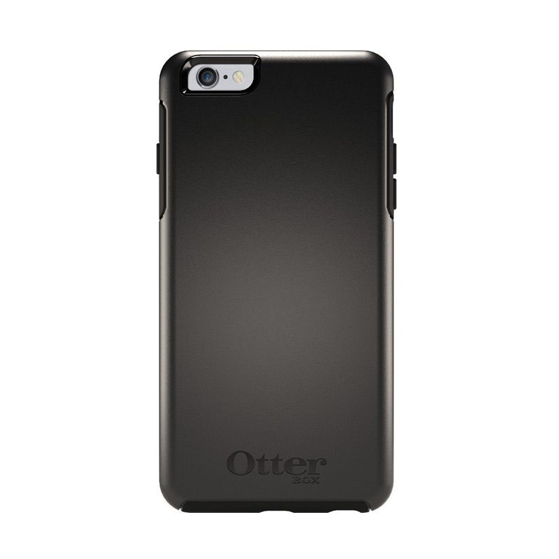 OtterBox Symmetry Anti Shock Black Casing for iPhone 6 Plus