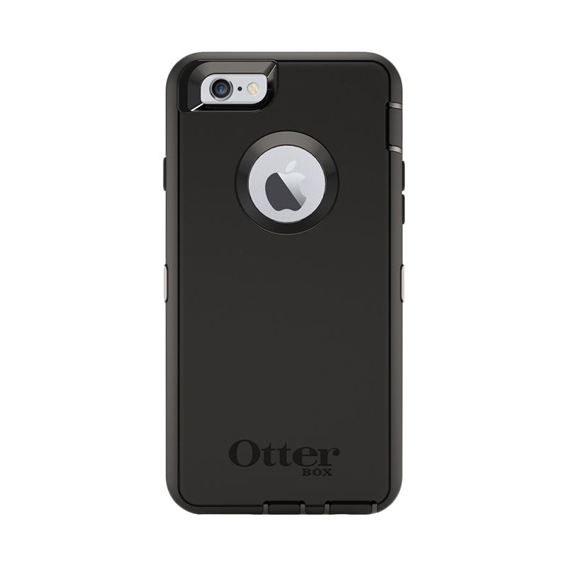 OtterBox Defender Series Black Casing for Apple iPhone 6/6s