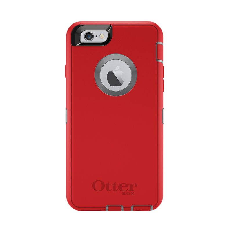 OtterBox Defender Series Red Casing for Apple iPhone 6/6s
