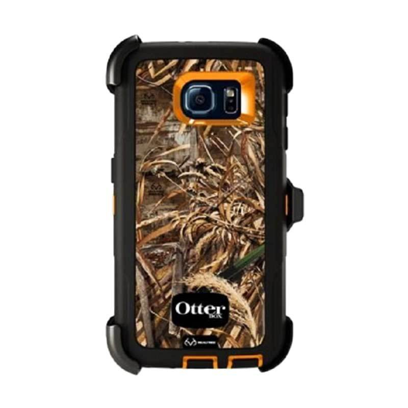 OtterBox Defender Series Rugged Protection Realtree Black Casing for Galaxy S6