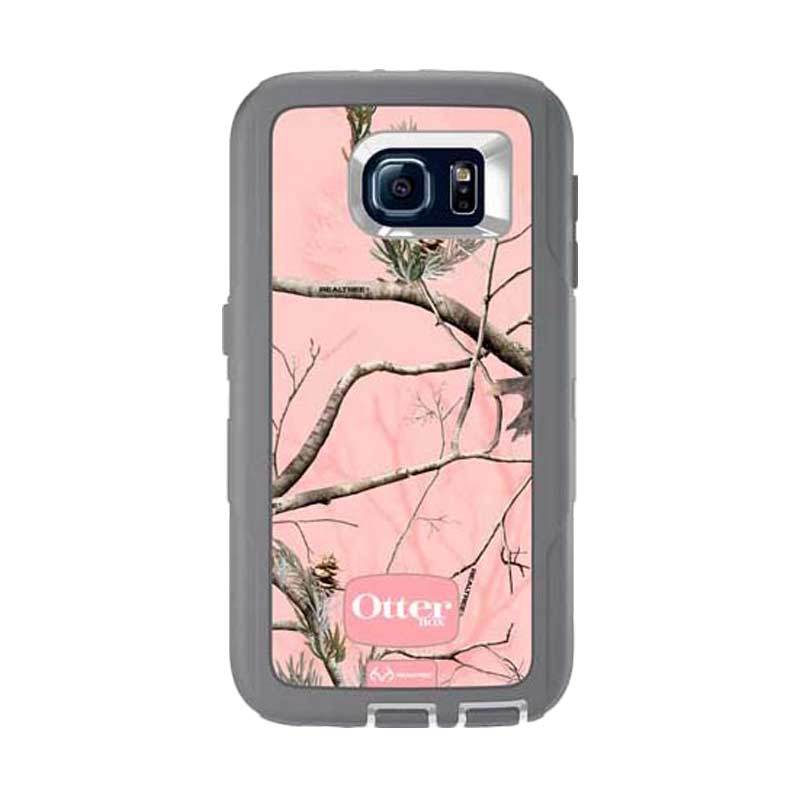 OtterBox Defender Series Rugged Protection Realtree Pink Casing for Galaxy S6