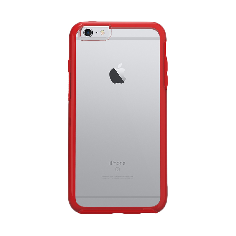 Otterbox Symmetry Clear Scarlet Casing for iPhone 6s/6 Plus