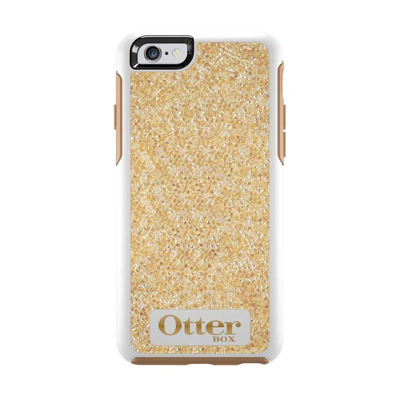 Otterbox Symmetry Series Crystal Edition Casing for iPhone 6S or 6 - Gold Sand Crystal