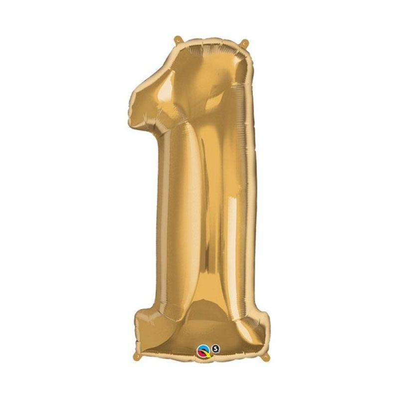 Our Dream Party Angka 1 Emas Balon [40 cm]