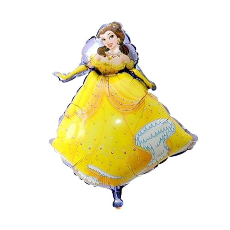 Our Dream Party Foil Princess Belle Kuning Balon