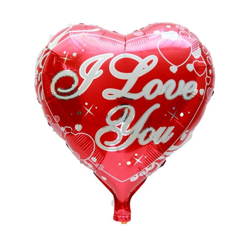Our Dream Party Hati I Love You Balon Foil