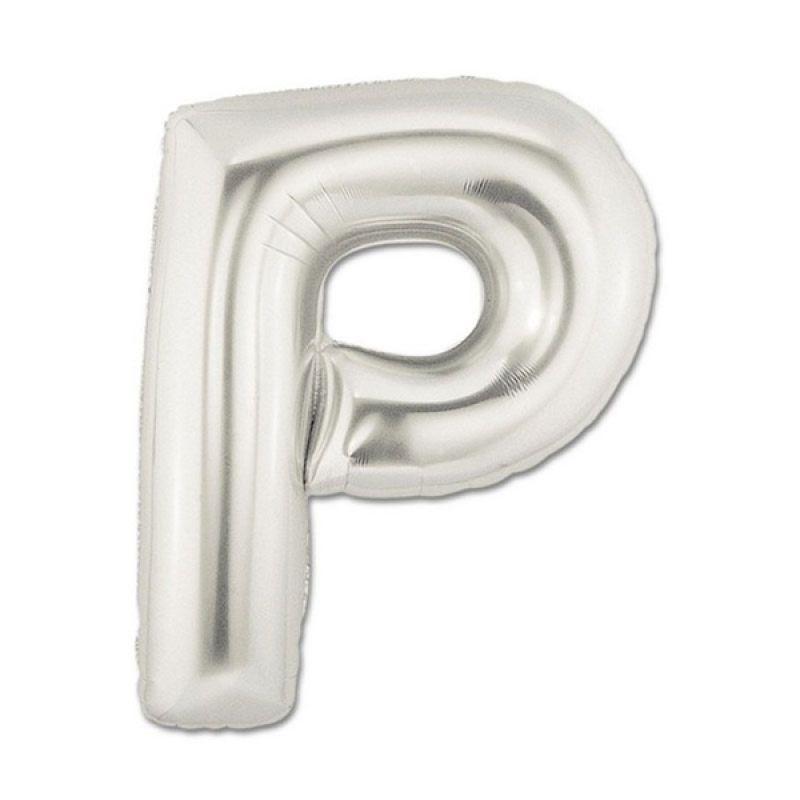 Our Dream Party Huruf P Silver Balon [40 cm]