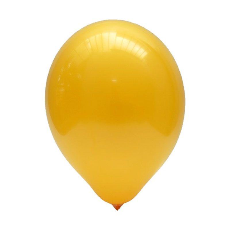 Our Dream Party Latex Doff Oranye Muda USA Balon