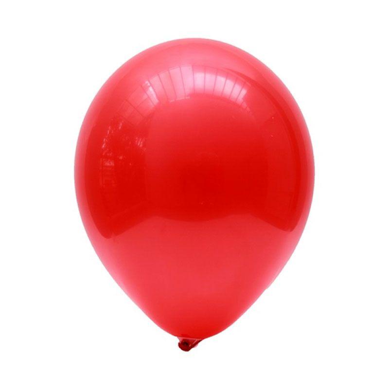 Our Dream Party Latex Metalik Merah Balon