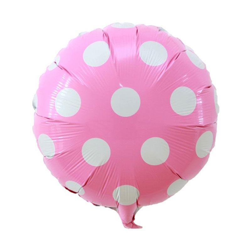 Our Dream Party Polkadot Pink Balon