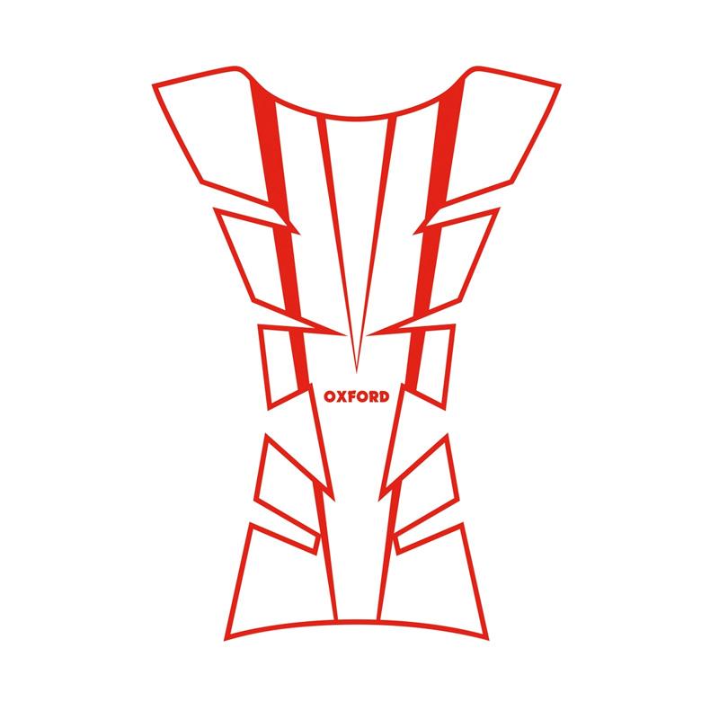 Oxford Sheer Arrow Tank Pad - Red