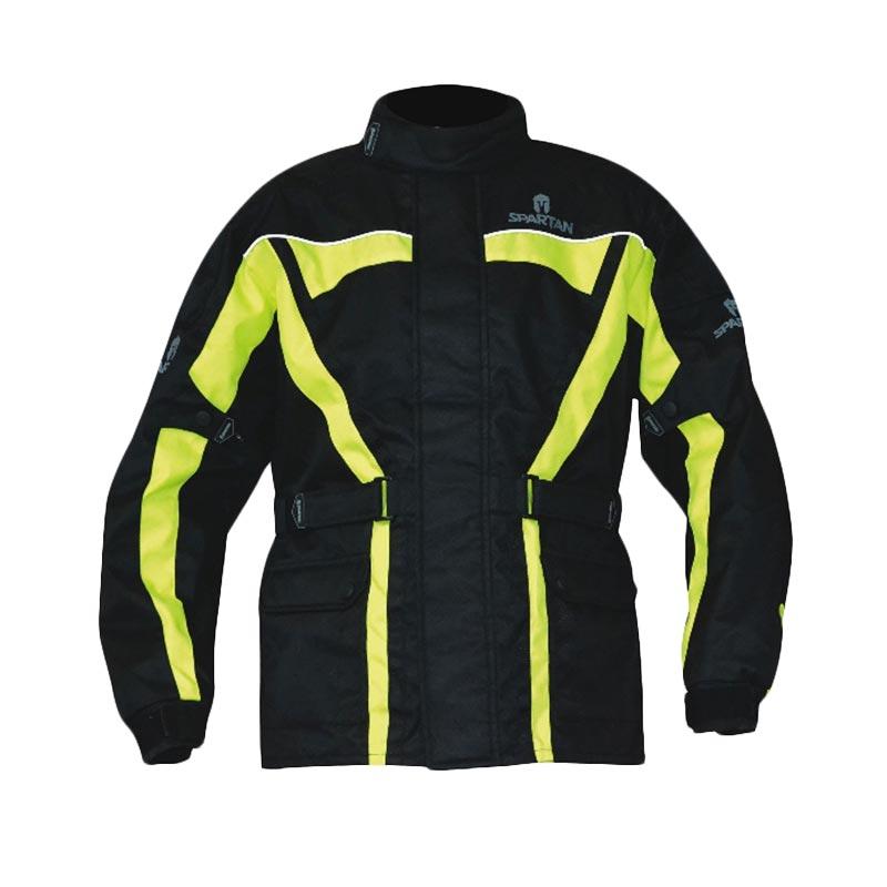 Oxford Spartan Jaket Motor - Black Fluo