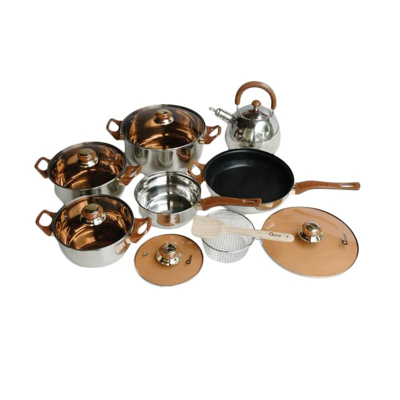 Oxone OX 933 Eco Cookware Set Peralatan Masak 14 pcs