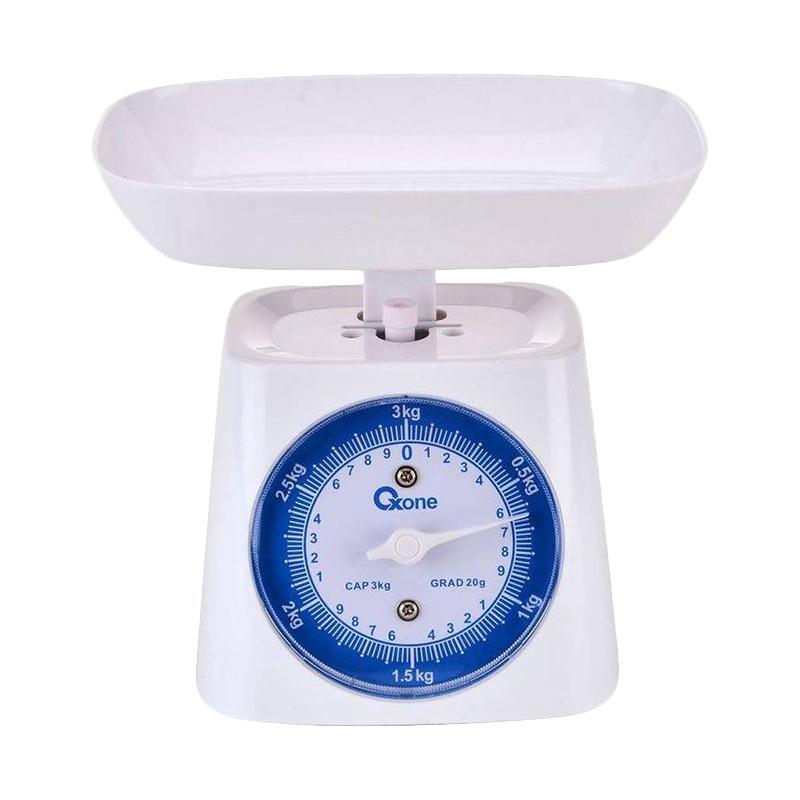 Oxone OX 211 Timbangan Dapur - Putih [3 kg]