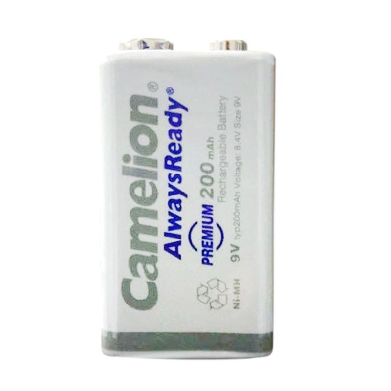 Camelion 9V Bp1 Ni-MH Ready To Use Baterai Kamera [200 mAh]