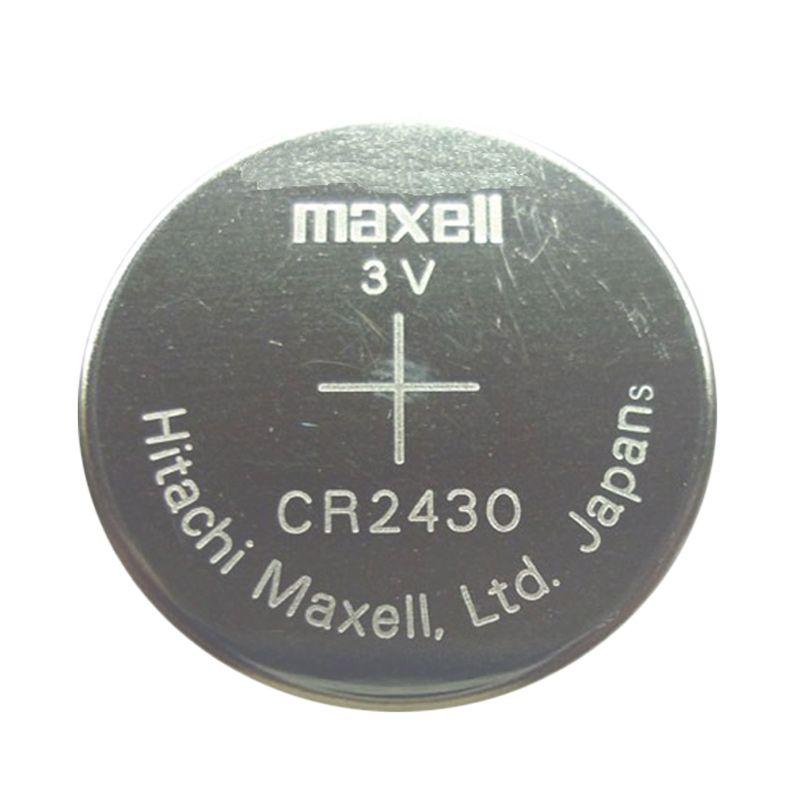 Maxell CR2430 Baterai Kancing [3 V]