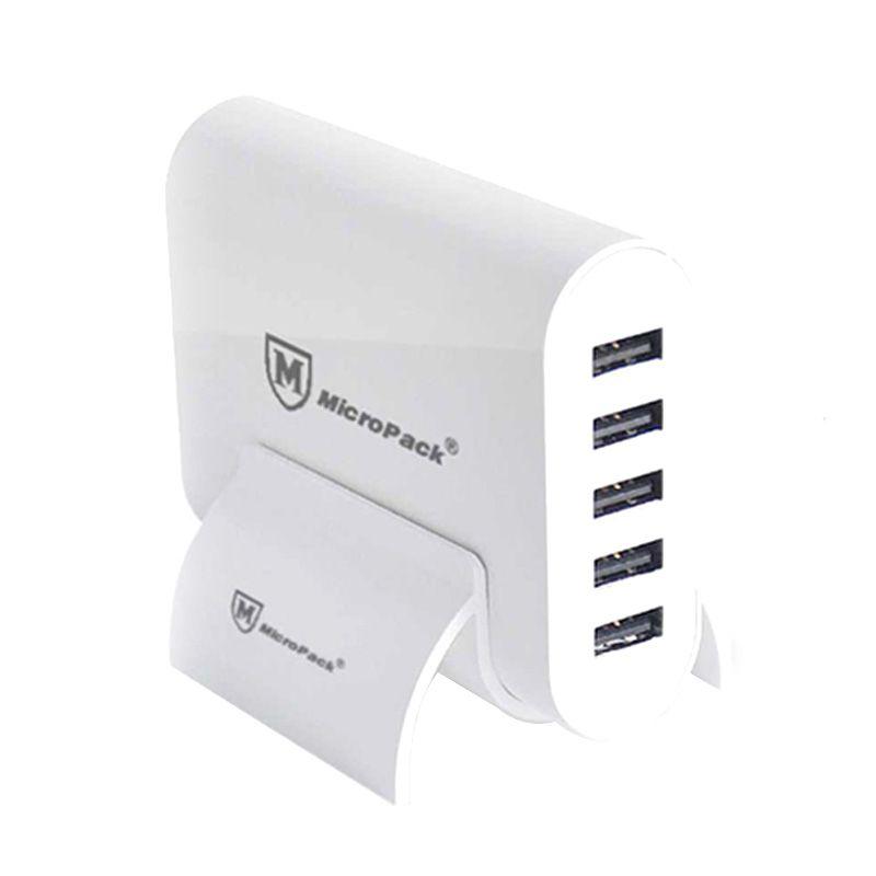 Micropack MUC-5SI 10A Putih Hub USB Charger [5 Port]