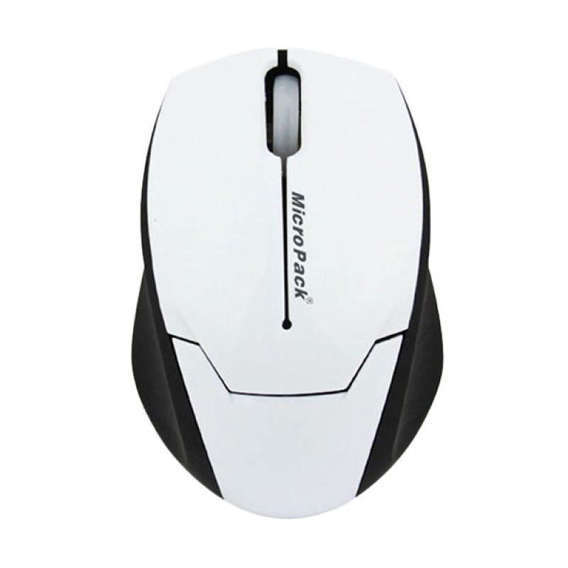 Micropack Double Lens MP-Y279R White Mouse