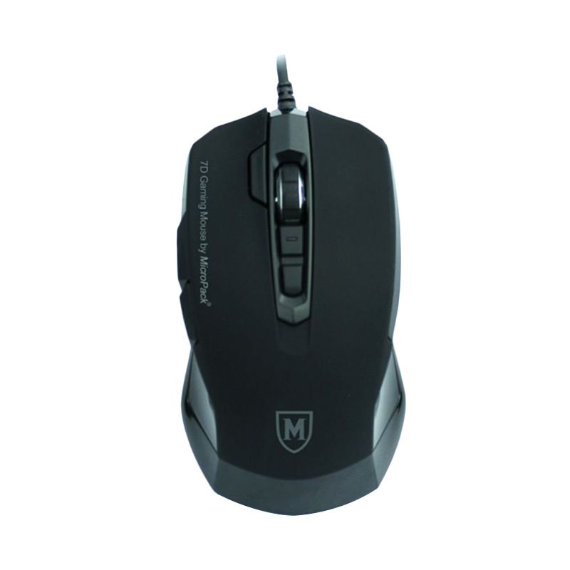 Micropack G3 7D Black Mouse Gaming
