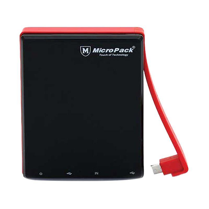 Micropack P10000P Black Red Power Bank [10000 mAh]