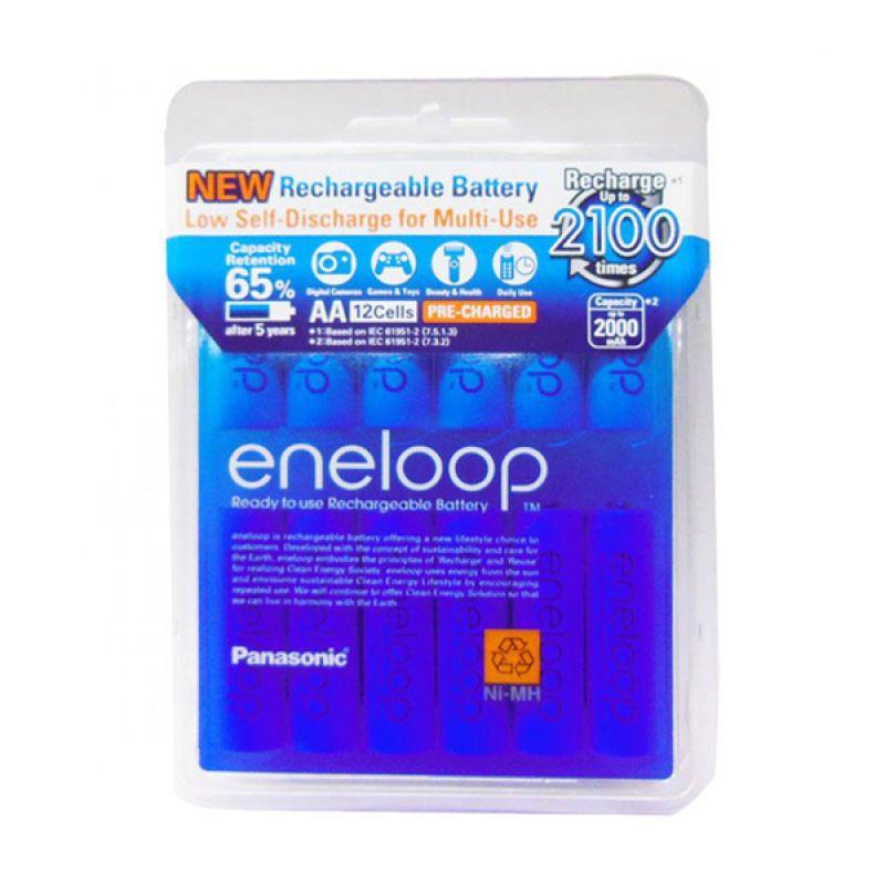 Panasonic Eneloop A2 Baterai Kamera [2000 mAh/12 Pcs]