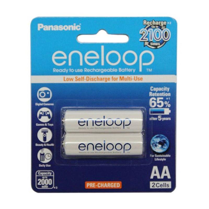 Panasonic Eneloop A2 Baterai Kamera [2000 mAh/2 Pcs]
